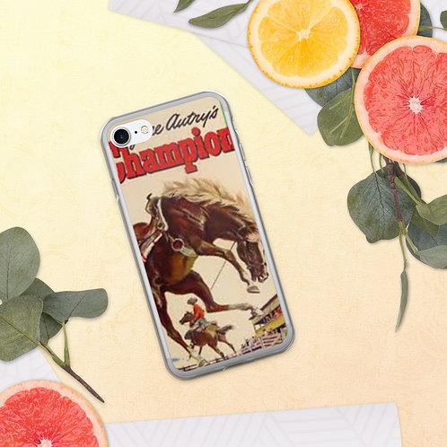Gene Autry's Champion Bronc iPhone Case