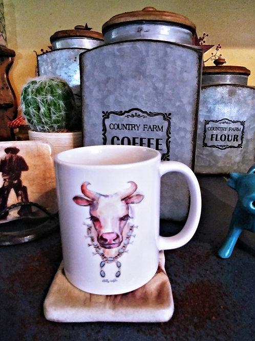 Fancy Cow Mug