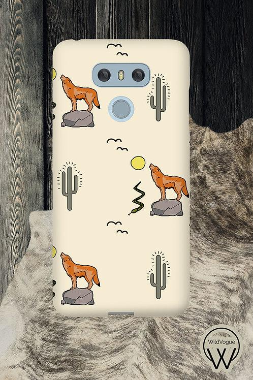 Coyote & Cactus Phone Case