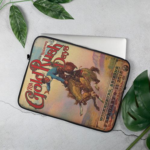Gold Rush Days Laptop Sleeve