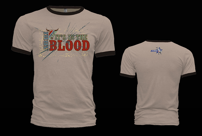 In The Blood Tan Ringer T-Shirt