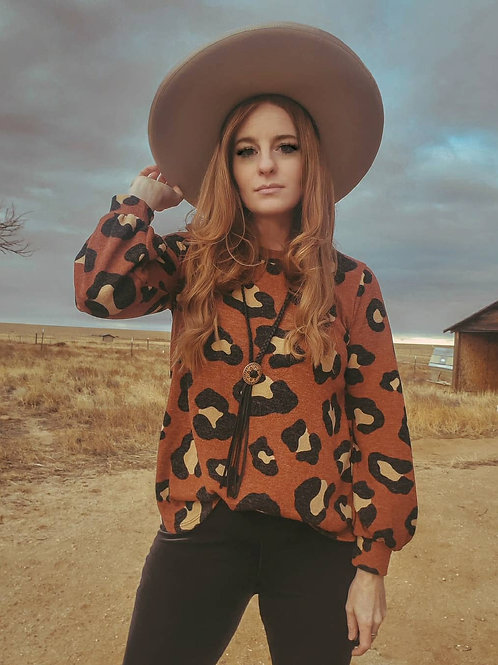 The Rusty Leopard Top