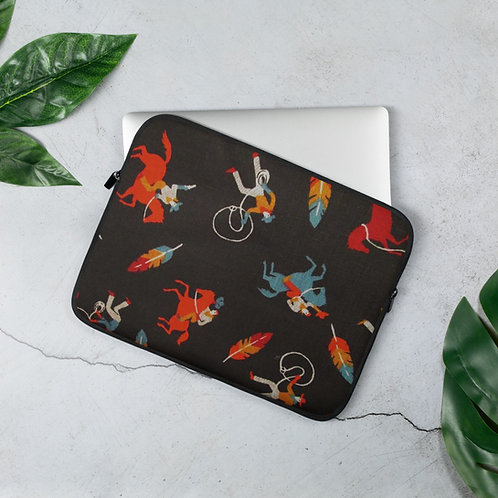 Feathered Indians Laptop Sleeve