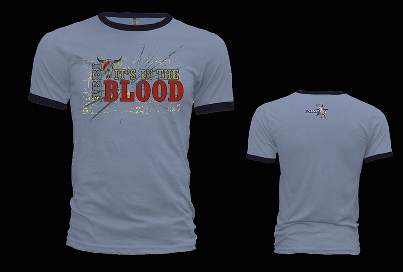 In the Blood Blue Ringer T-Shirt
