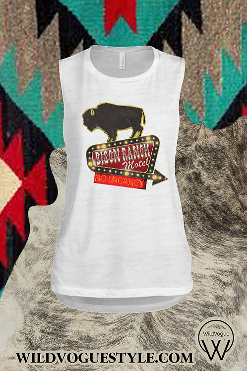 Bison Ranch Muscle Tank