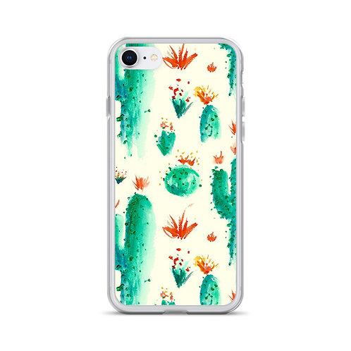 Cactus Splash iPhone Case