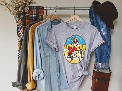Riding Fences Short-Sleeve Unisex T-Shirt