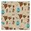 Thumbnail: Turquoise n Longhorn Cloth Napkins