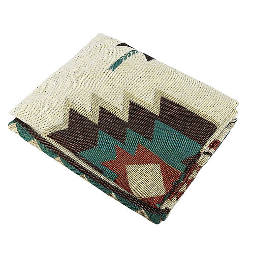 The Painted Canyon Throw Blanket