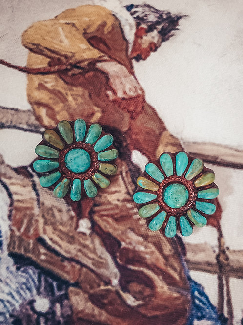 Sookie Sookie Clay Cluster Earrings