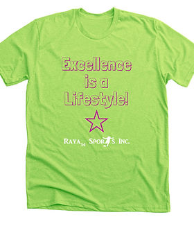 Excellence is a lifestyle tshirt.jpg