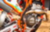 Acerbis Frame Guards, dirt bike frame protection.