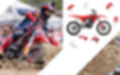 Acerbis Replica Honda platics.