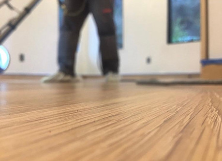 Flat Sanded Engineered Oak