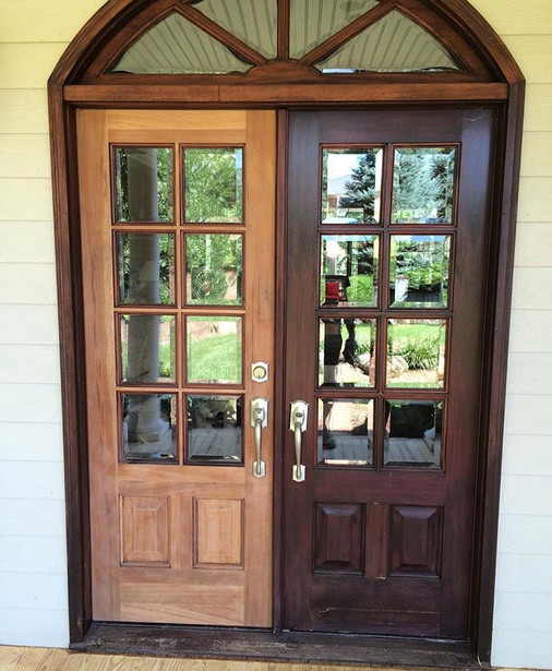 Before Mahogany Door