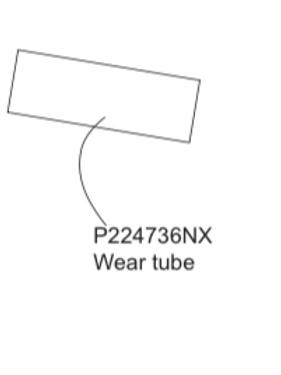 P224736NX Wear tube