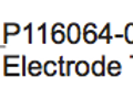 P116064-01GX Electrode Tip