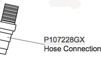 P115176GX Hose Connection
