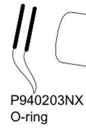 P940203NX O-ring (bag of 10)
