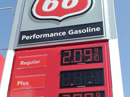 Armadillo, Arkansas, cheap gas & smoke on water: Ramble with the Lady