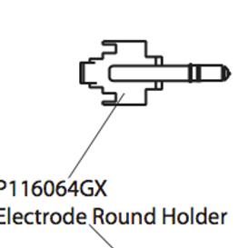P116064GX Electrode Round Holder