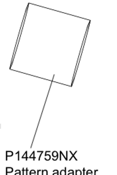 P144759NX Pattern adapter