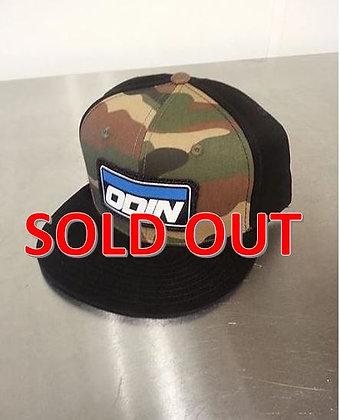 Odin Logo Hat Camo W/Black