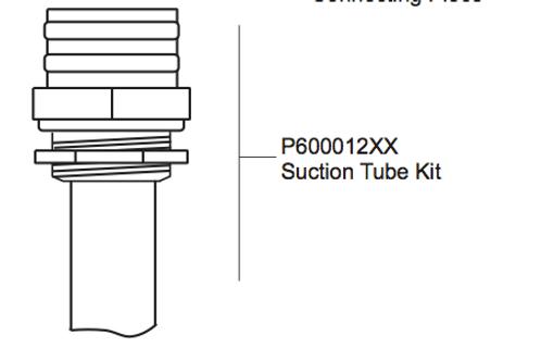 P600012XX Suction Tube Kit