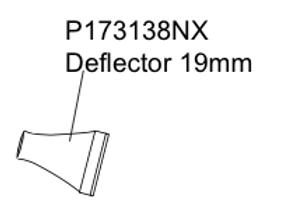 P173138NX Deflector 19mm