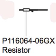 P 116064-06GX Resistor