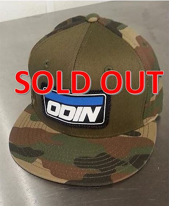 Odin Logo Hat Camo /w Olive