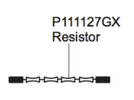 P111127GX Resistor