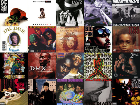 10 Favorite Rap Albums