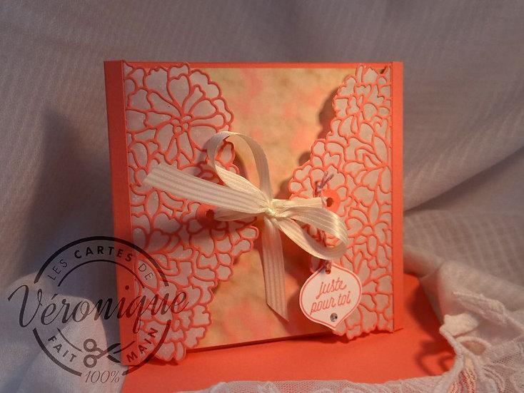 """Carte 3D livret """"Toi et Moi"""" /  Congratulations Booktlet"""