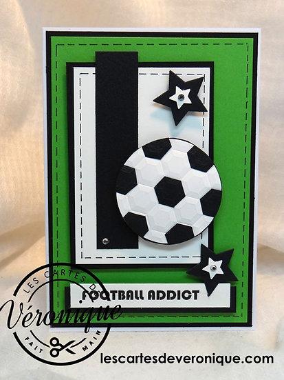 Carte 3D Football Addict