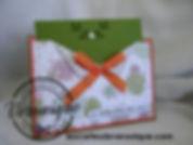 Carte pochette 3D Stampin'Up© / 3D Stampin'Up © wallet card