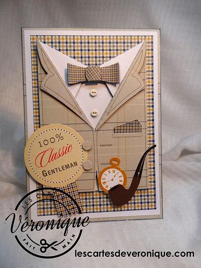 Carte 3D 100% Gentleman