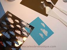 Technique d'utilisation de la pâte à embosser Stampin'Up® / technique of using the Stampin'Up ® embossing paste