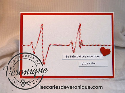 Carte Saint Valentin Electro / Valentin's day card