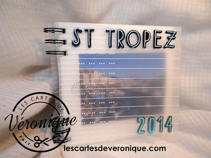 "Tutoriel album ""St Tropez"""