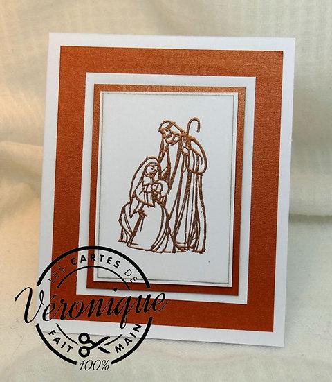 Carte 3D Nativité / 3D Nativity Card