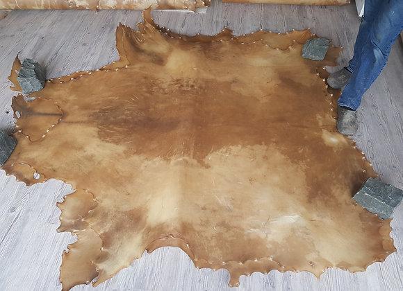 Bisonrohhaut 2,70m² Mother Drum Schamanen Pergament Trommelbau