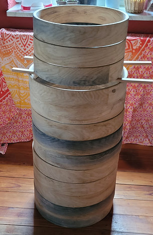 Eichenholz Trommelrahmem Native Drum Schamanen Trommeln