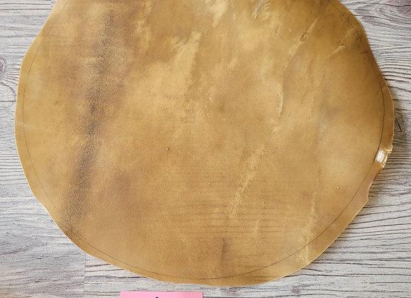 Bisonhaut Zuschnitt Durchmesser 45cm