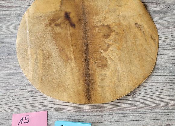 Bisonhaut Zuschnitt Durchmesser 44cm