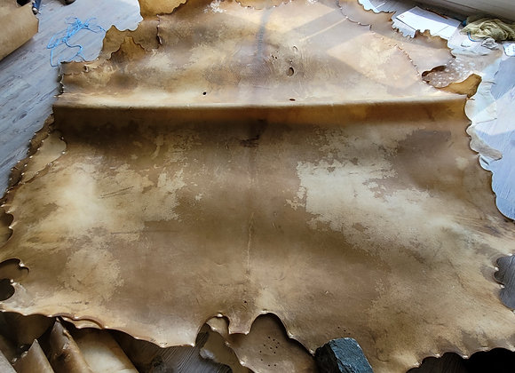 Bisonrohhaut 4,75m² Trommelhaut Mother Drum