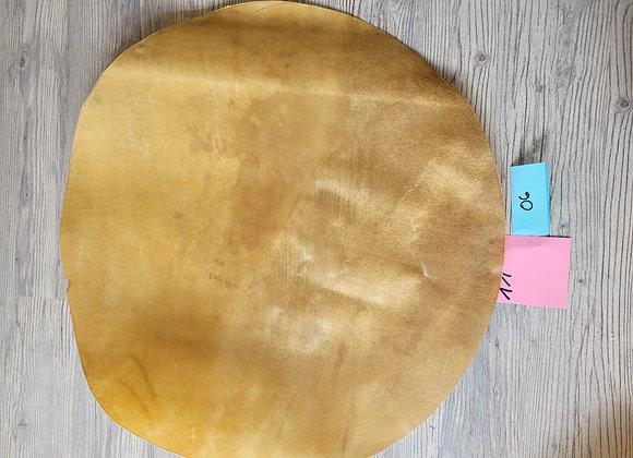Bisonhaut Zuschnitt Durchmesser 71cm Pergament Schamanen Trommelbau