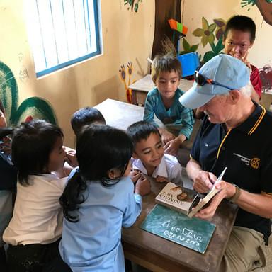 Rotarians Teaching
