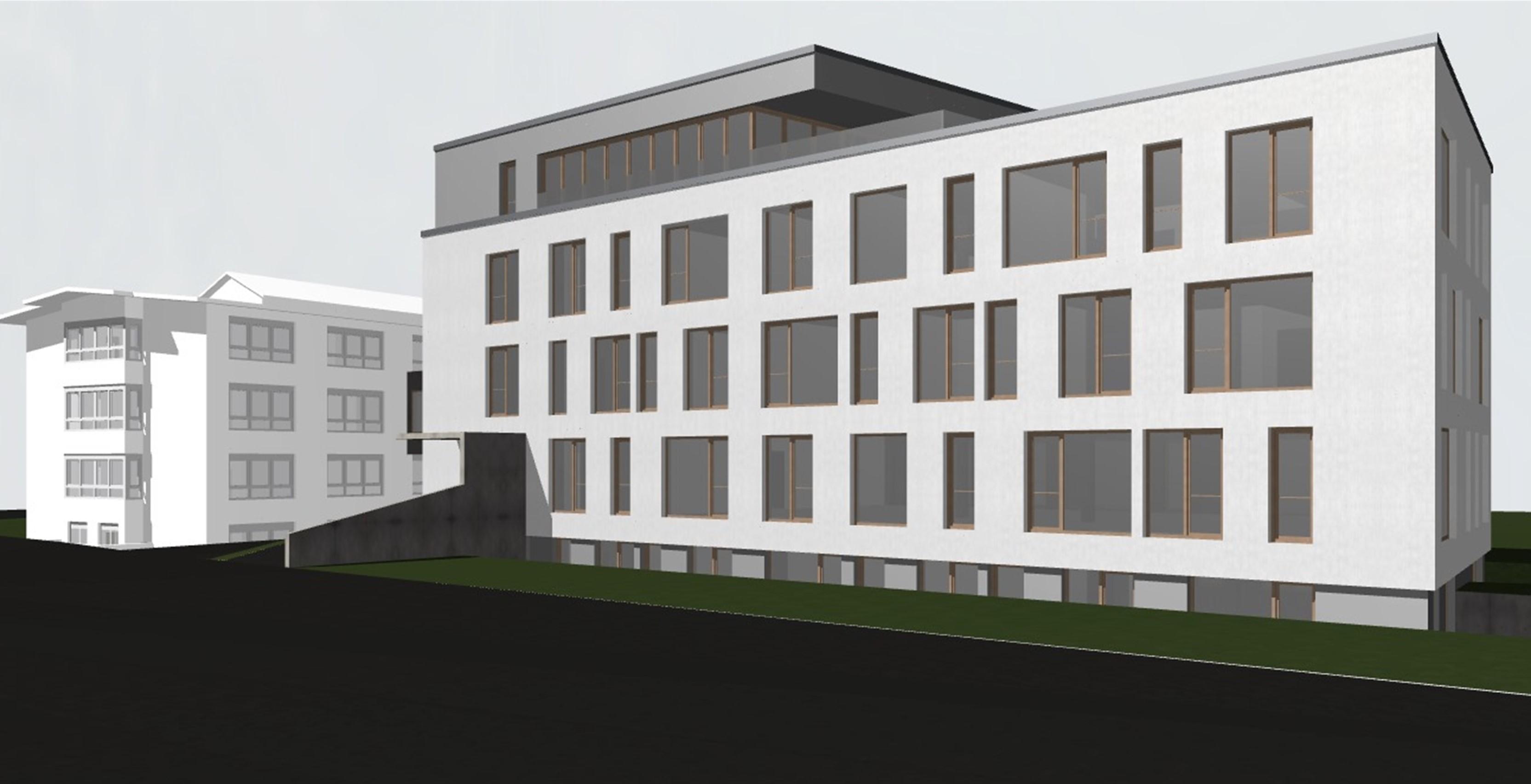 Neubau KFW55 Bürogebäude