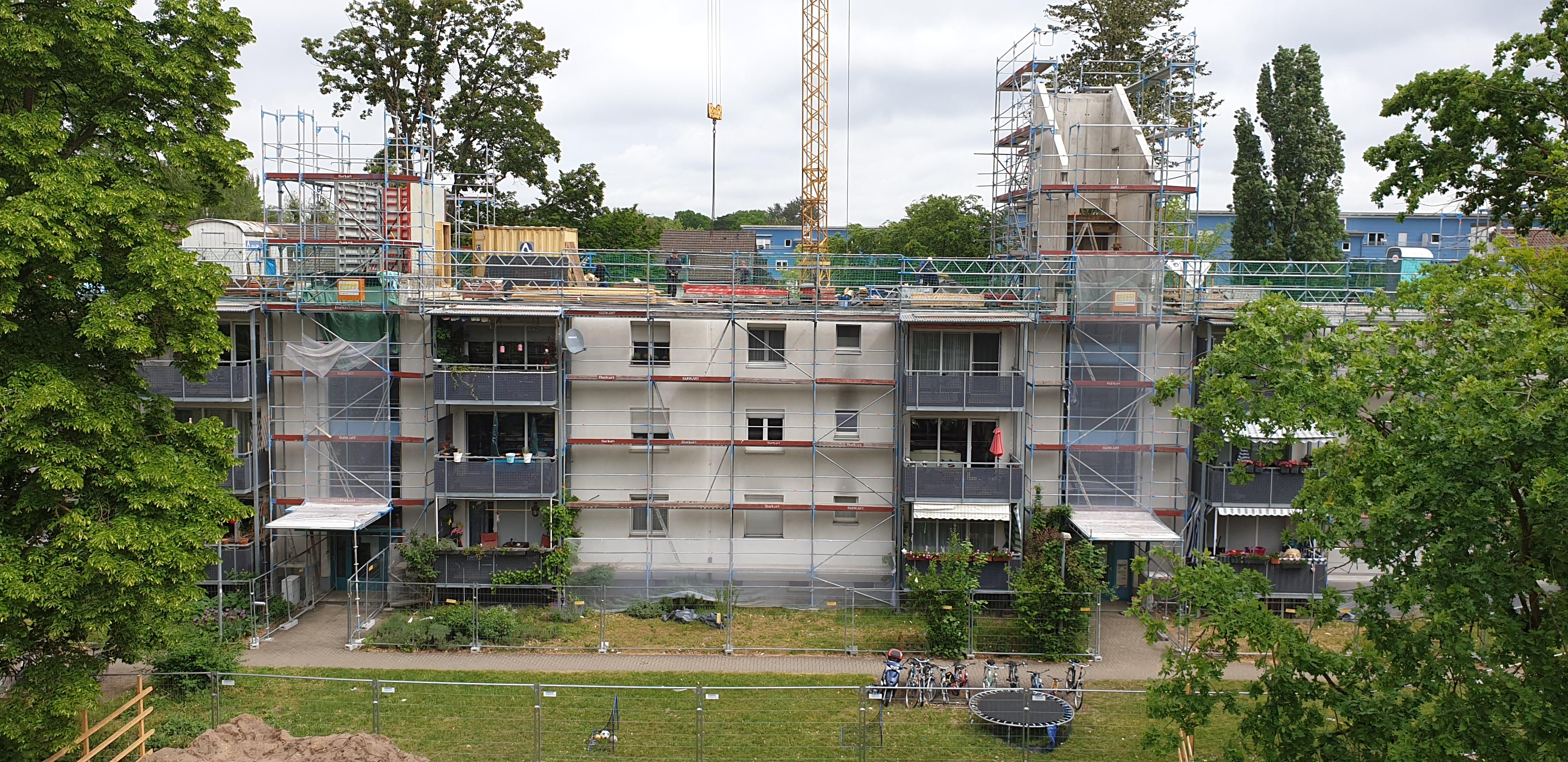 Aufstockung Wohngebäude